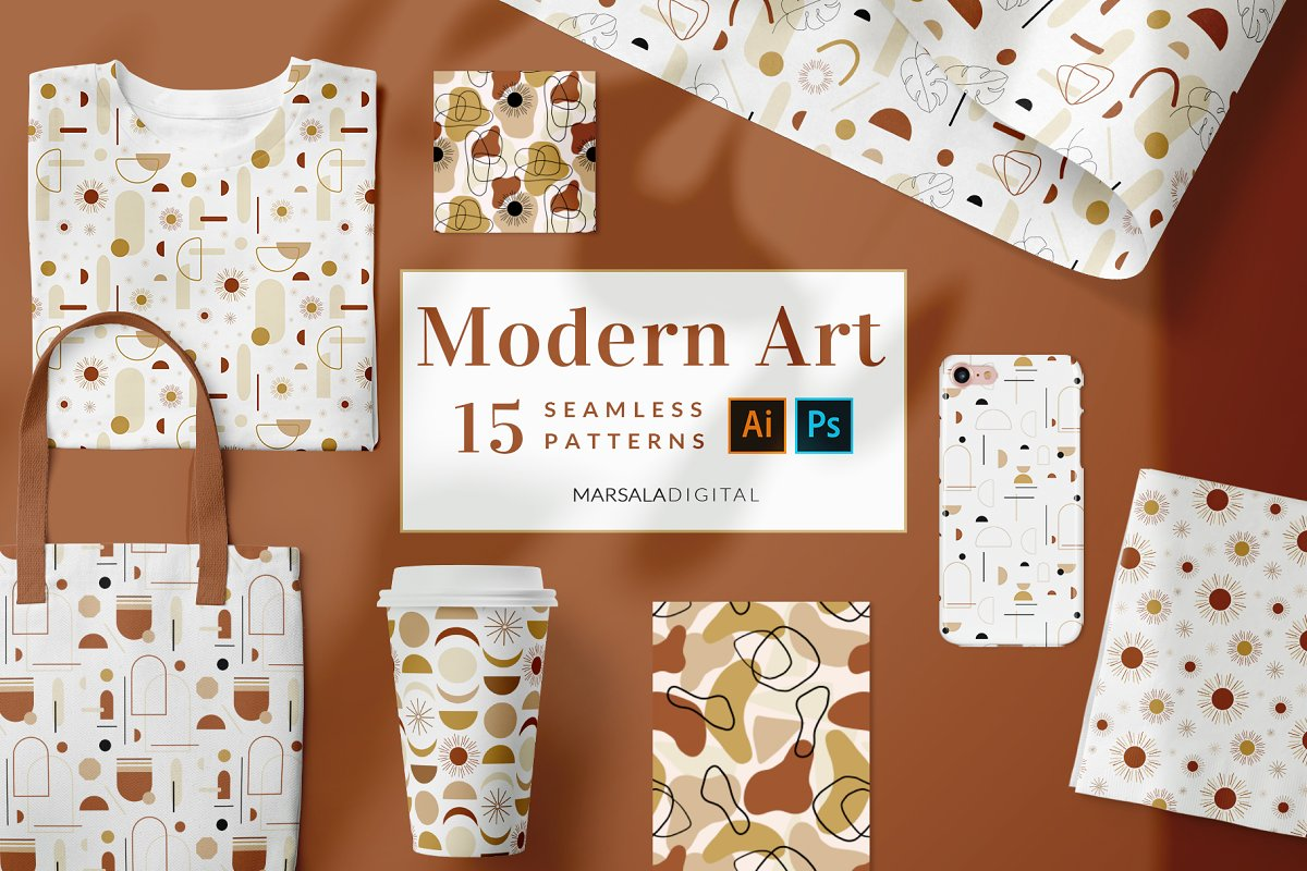 Modern Abstract Geometric Patterns