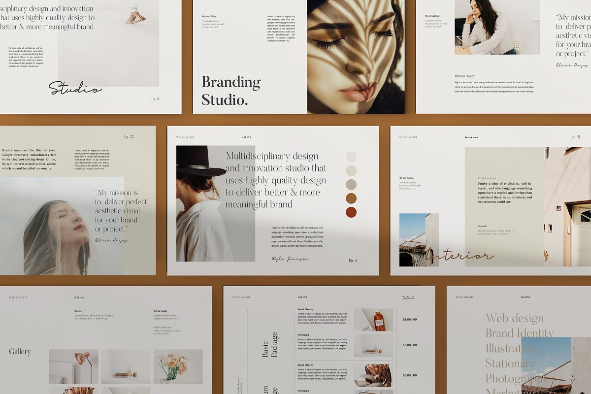 KALINA - Client Welcome Template