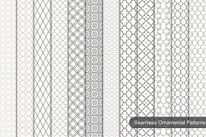 Collection of ornamental patterns.