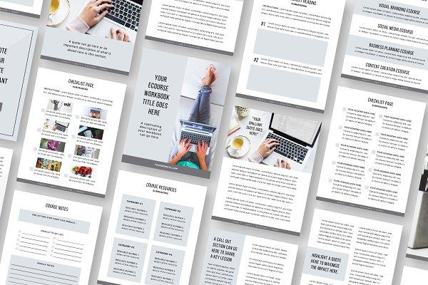 eCourse Workbook Template