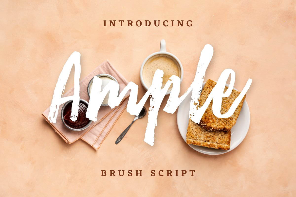 Ample Brush Script - 20% OFF
