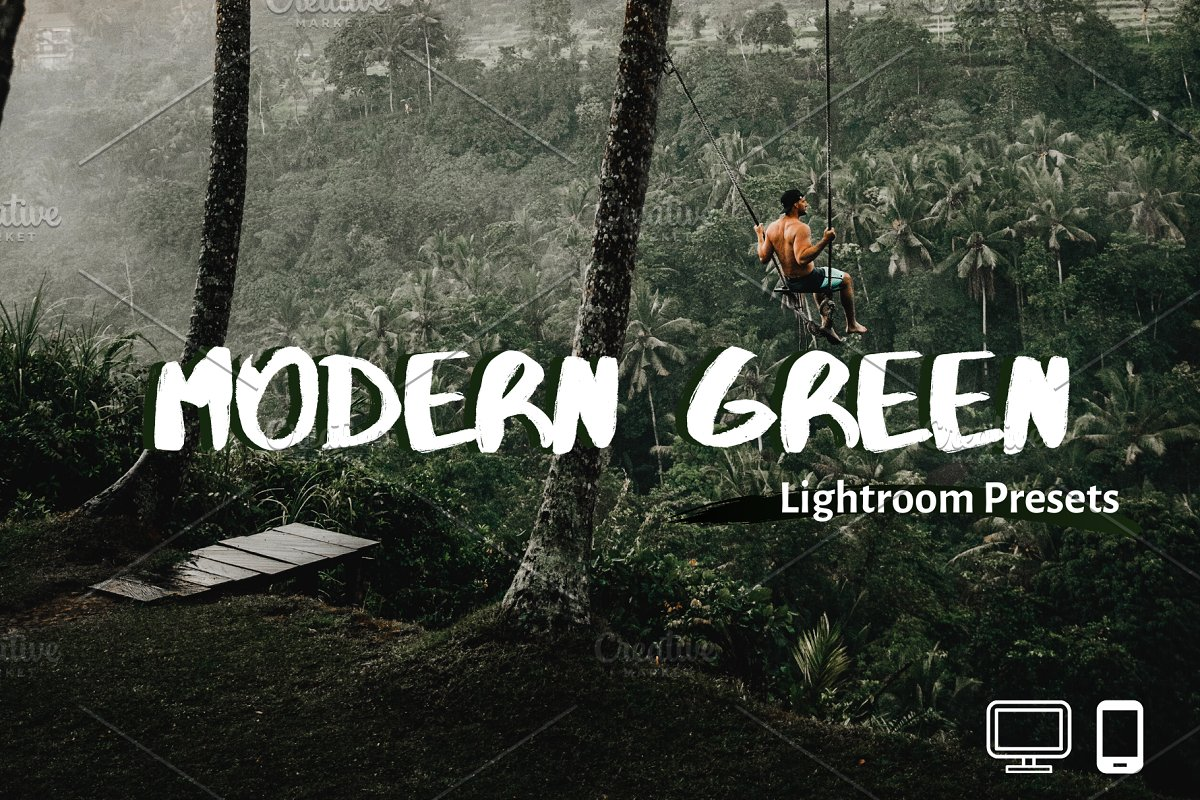 Green Lightroom Presets XMP/DNG
