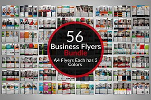 56 Creative Business Flyers Bundle