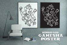 Hindu elephant head god Ganesha.