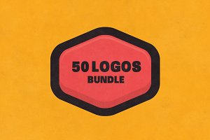 BUNDLE 50 Logos & Badges