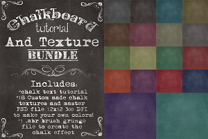 Chalkboard Tutorial & Texture Bundle
