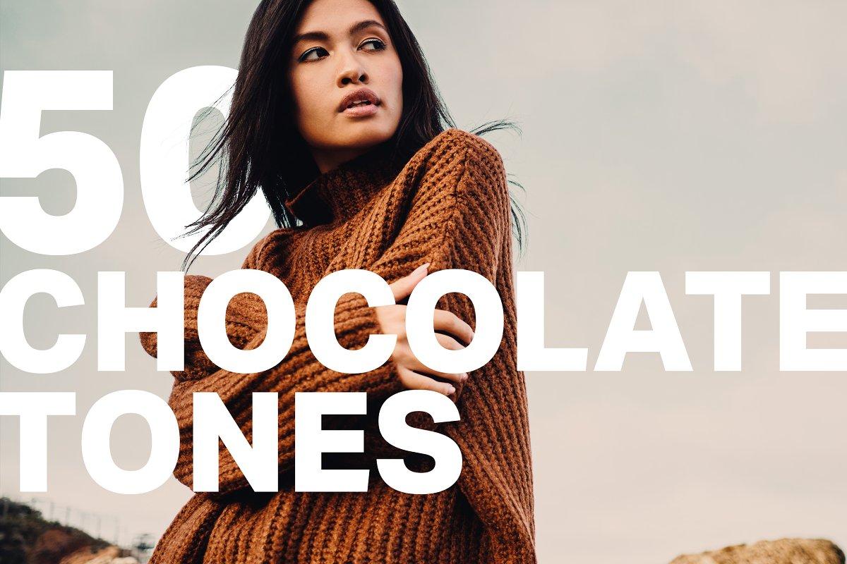 50 Chocolate Tones Lightroom Presets