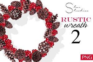 Rustic Wreath 2