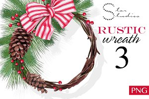 Rustic Wreath 3