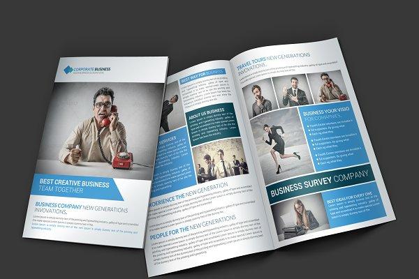 Communication Company Brochure