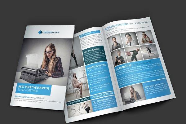 Tradex Business Bi-Fold Brochure