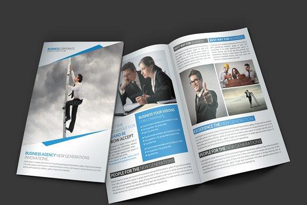 Multi Business Bi-fold Brochure
