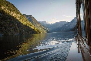 Boat trip at Koenigssee