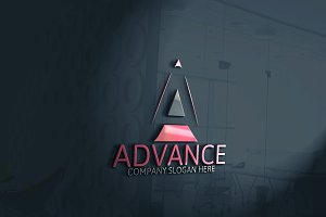 Advance - Letter A Logo -35%off