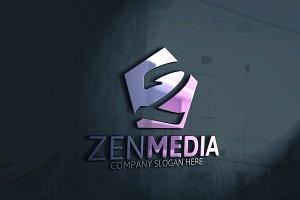 Zen Media Letter Z Logo