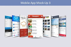 Mobile App Mock-Up 3