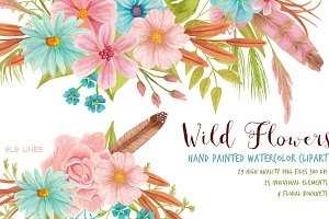 Wild Flowers Meadow Set