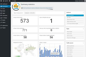 Site Visitor Statistics for WorPress