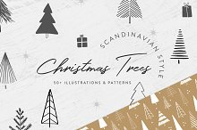 Scandinavian Christmas Trees & More