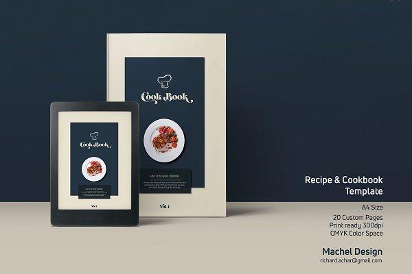 Recipe, Menu and Cookbook Template