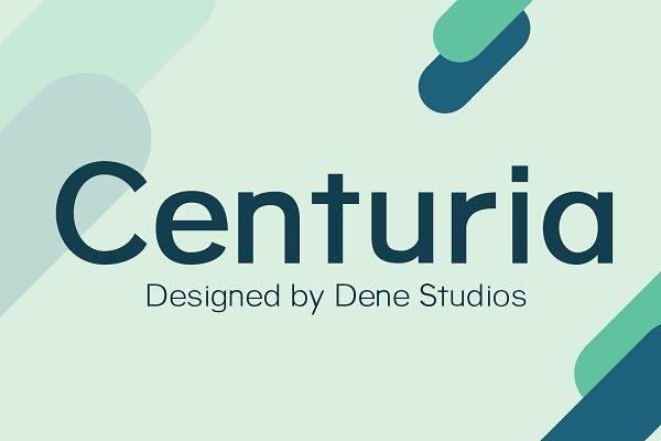 Centuria Typeface