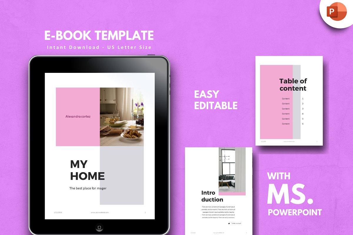 Ebook Template Powerpoint Template Brochure Templates
