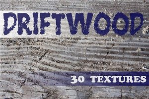 Driftwood - 30 Textures