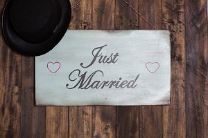Poster Just Married