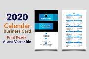 Calendar Business Card 2020 Vol-2