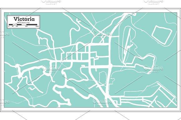 Victoria Seychelles City Map