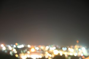 blurred bokeh