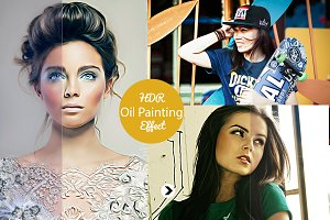 Realistic Pro Oil Painting Effect v2