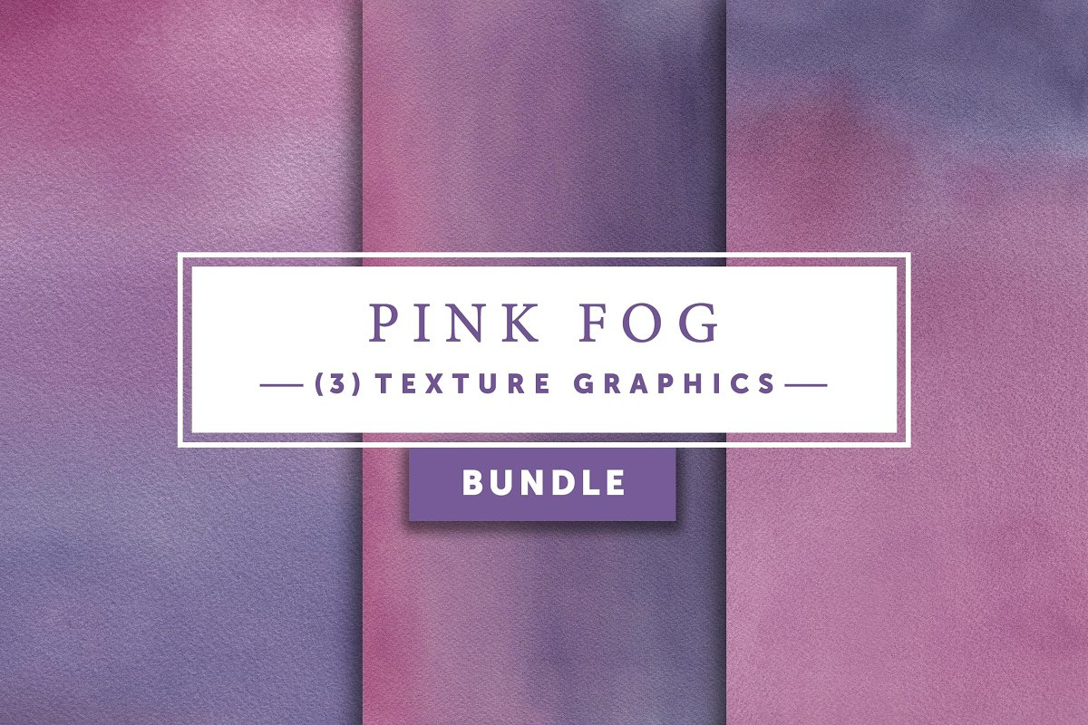 Pink Fog Bundle Texture Graphics
