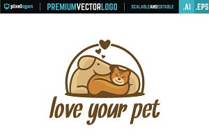 Love Pet Logo