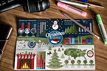 Set of Christmas Infographics