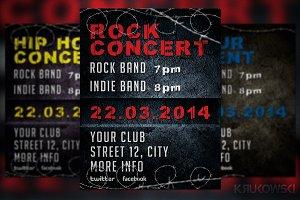 Grunge Concert Flyer