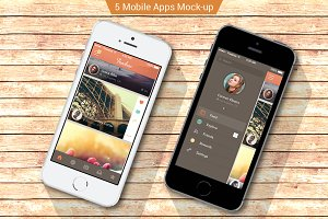 iPhone apps Mock-ups