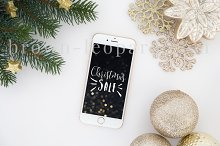 Christmas iPhone mockup (63)
