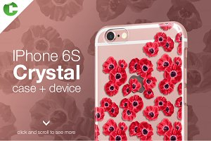 Iphone 6/6S crystal case