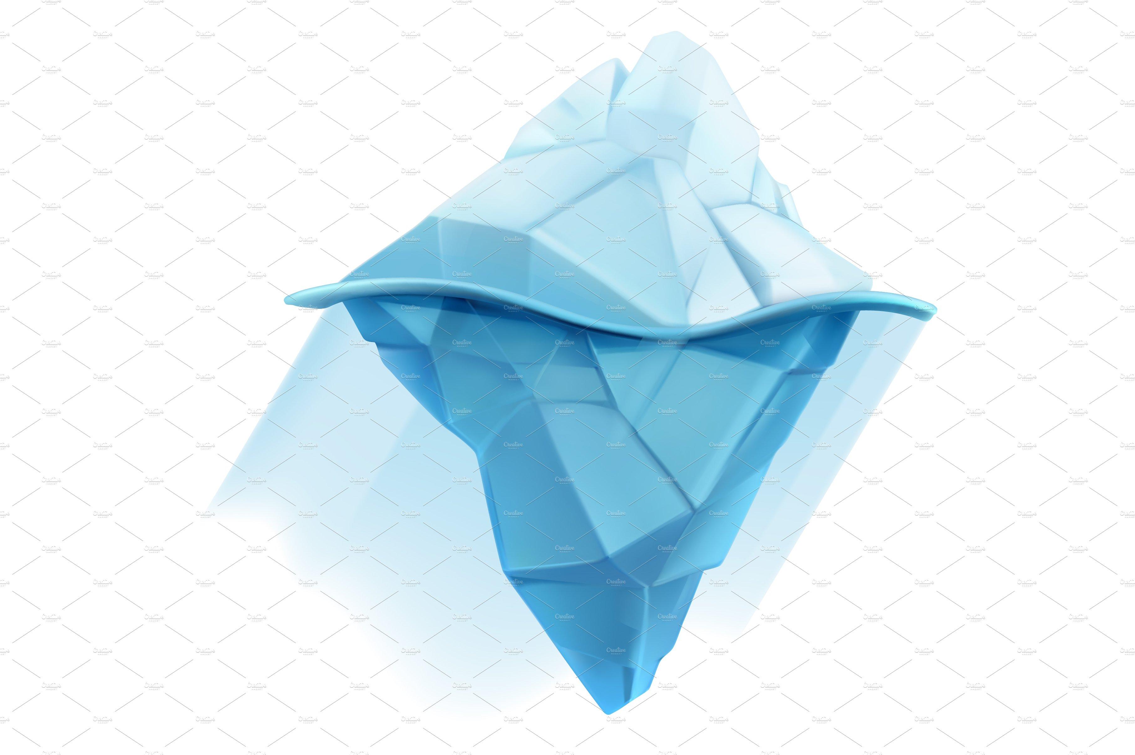 Iceberg Icon Icons Creative Market