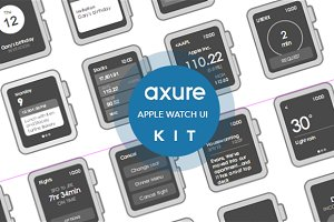 Apple Watch widgets for Axure
