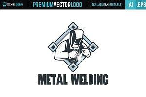 Metal Welding Logo