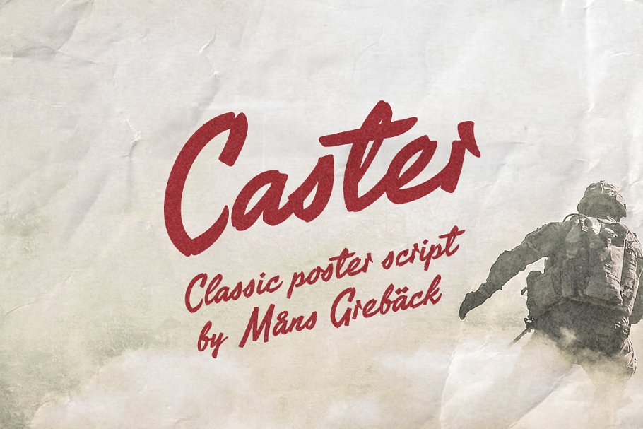 Caster - Classic Poster Font