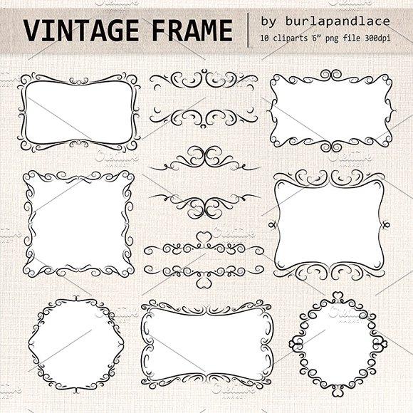 Hand draw frames ~ Illustrations ~ Creative Market
