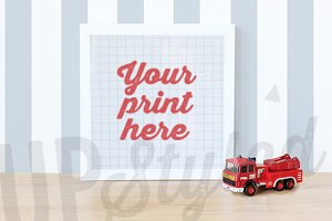 F107 Kids Art Frame Mock Up