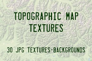 Topographic Map Textures
