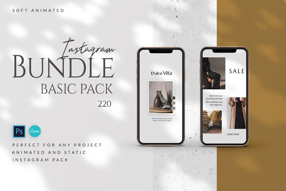 Bundle Basic Pack Animated -PS/CANVA