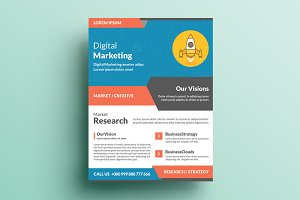 Creative Corporate Flyer V64