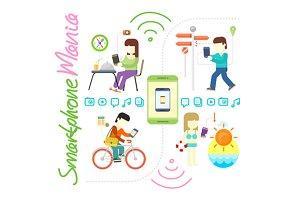 Smartphone and Social Media Mania