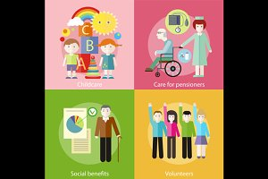 Volonteer Childcare Care Pensioners